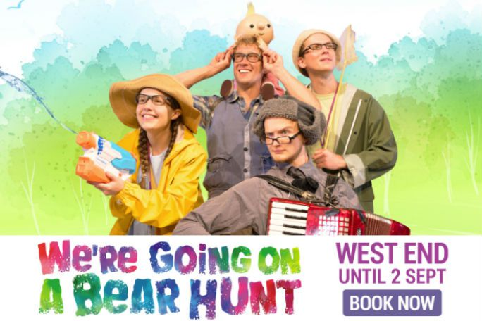 We're Going on a Bear Hunt Tickets