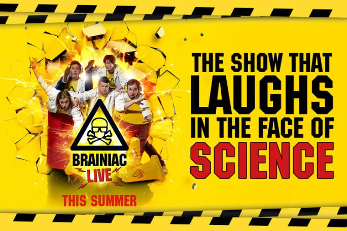 Brainiac Live! Tickets