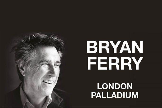 Bryan Ferry Tickets