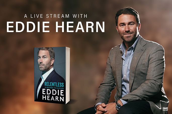 A Live Stream with Eddie Hearn Tickets