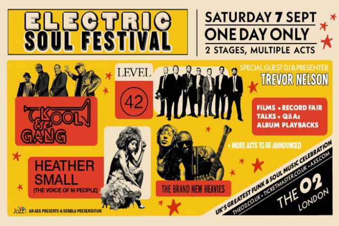 Electric Soul Festival Tickets