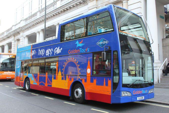 Golden Tours Hop on Hop off London Bus Tour 48 Hours Tickets