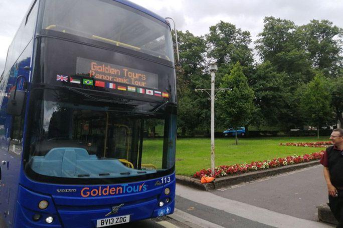 Golden Tours Hop on Hop off Windsor Bus Tour 24 Hours Tickets
