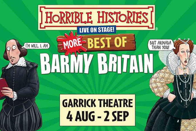 Horrible Histories - More Best of Barmy Britain Tickets