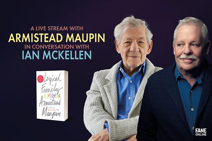 Armistead Maupin in Conversation with Ian McKellen Tickets