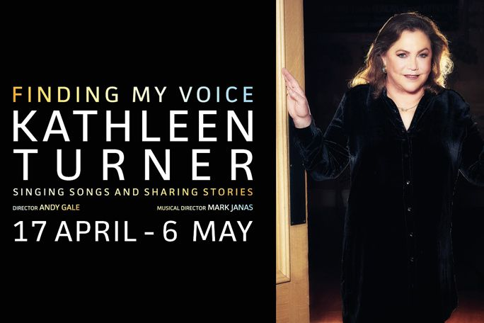 Kathleen Turner - Finding My Voice Tickets