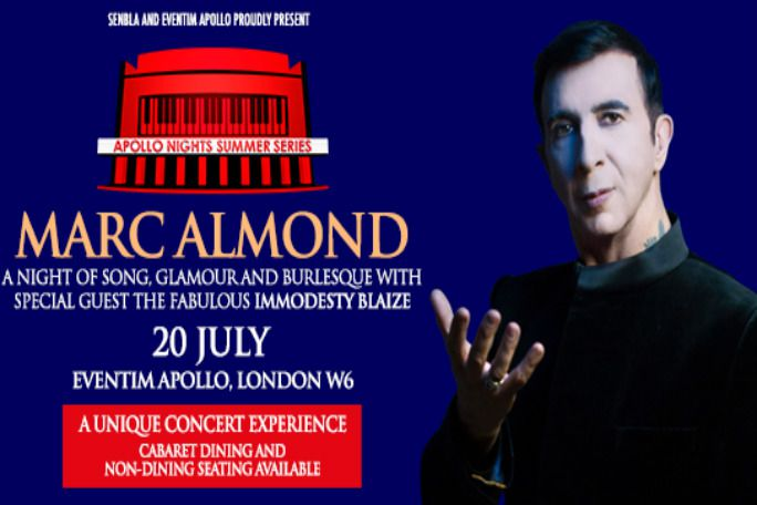 Marc Almond with Special Guest Immodesty Blaize Tickets