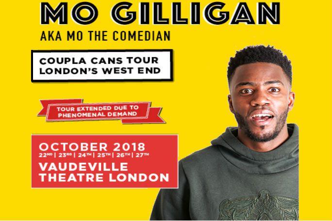 Mo Gilligan Tickets