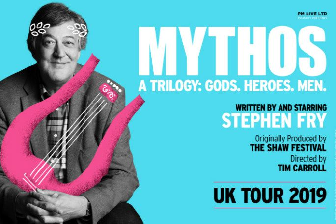 Stephen Fry Mythos A Trilogy: Men Tickets