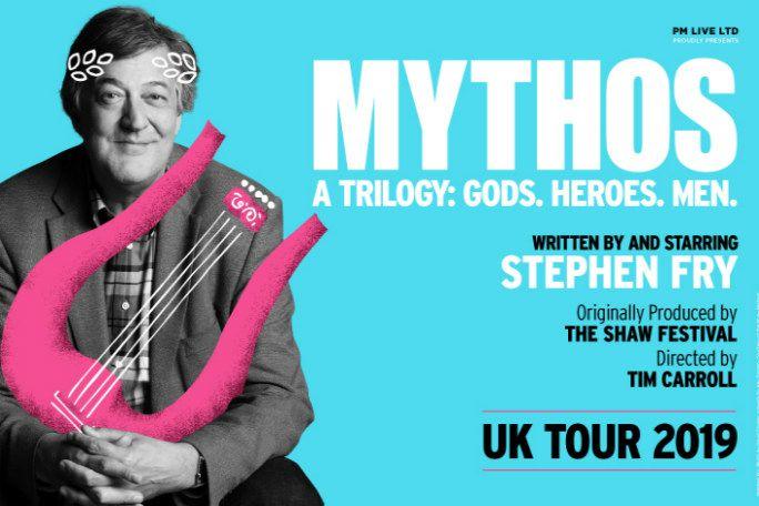 Stephen Fry Mythos A Trilogy: Gods Tickets