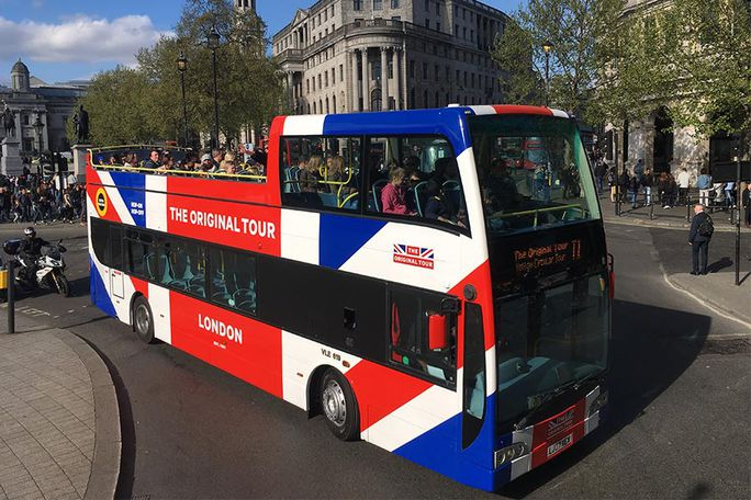 'The Original Tour' London Sightseeing - 24 Hour Ticket Tickets