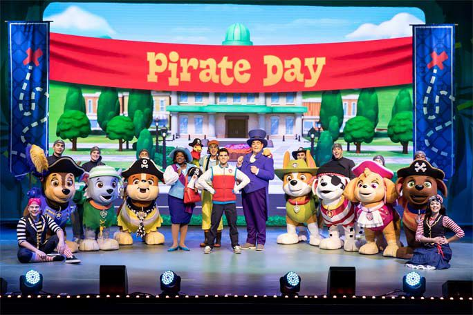 Paw Patrol Live! The Great Pirate Adventure: Manchester Tickets