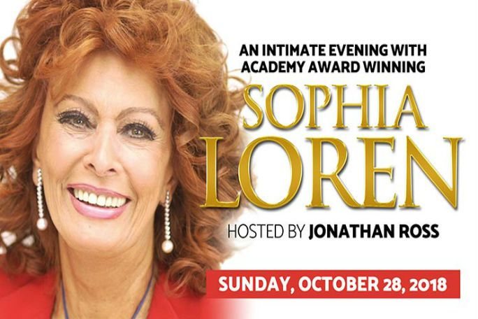 An Evening with Sophia Loren Tickets