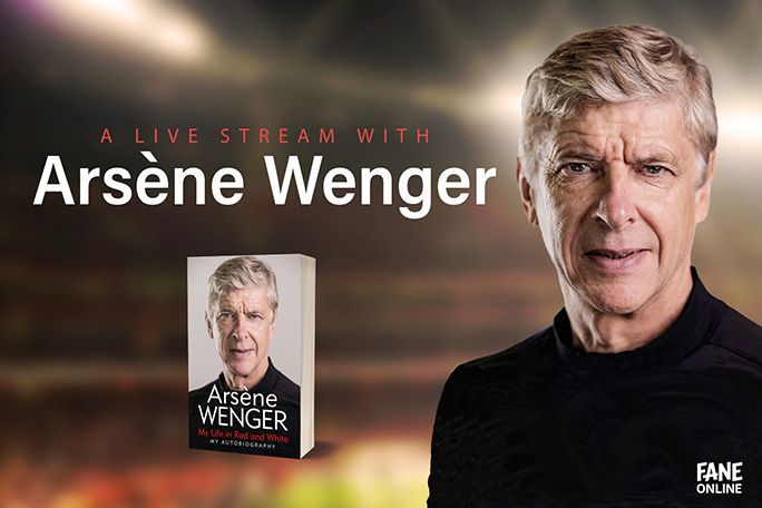 A Live Stream with Arsene Wenger Tickets