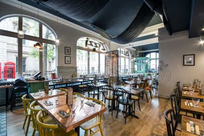 Zizzi Bow Street Tickets