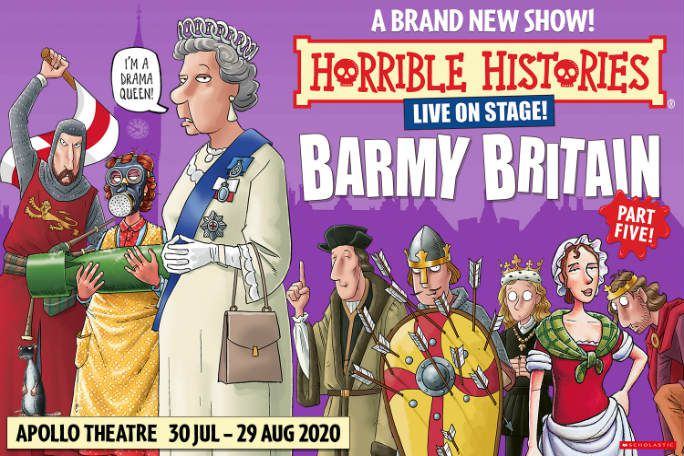 Horrible Histories - Barmy Britain - Part 5 Tickets