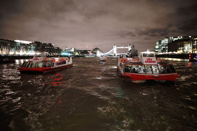 City Cruises – London Dinner Cruise Tickets