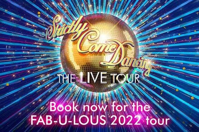 Strictly Come Dancing The Live Tour 2022- London O2 Arena Tickets