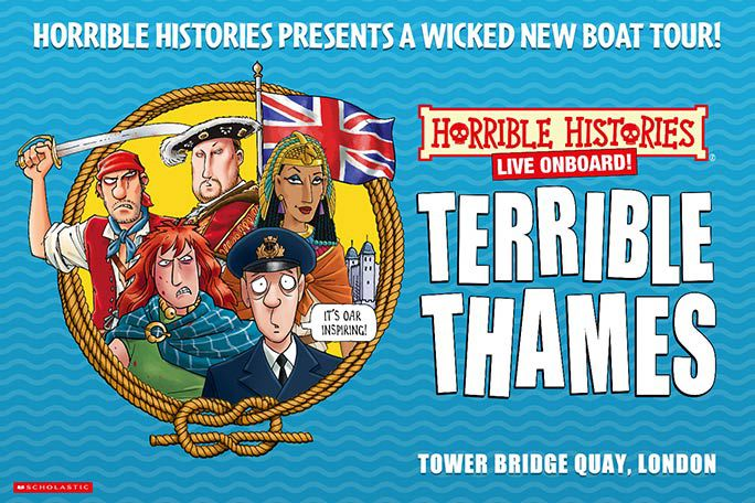 Horrible Histories Live Onboard - Terrible Thames! Tickets