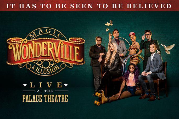 Wonderville Magic & Illusion Tickets